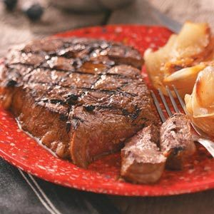 Grilled Marinated Ribeyes Recipe