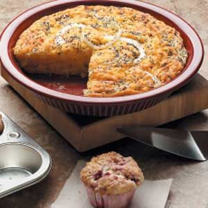 Vidalia Onion Custard Bread Recipe