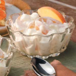 Creamy Peach Pudding Recipe