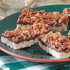 Chocolate-Oat Toffee Bars Recipe