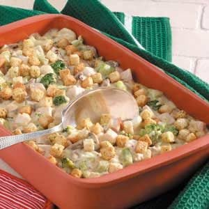 Creamy Turkey Casserole Recipe