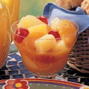 Hot Spice Fruit Compote Recipe