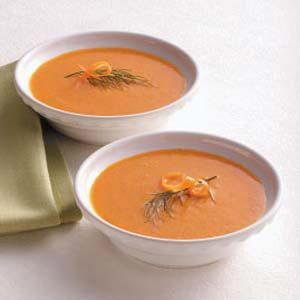 Red Pepper Carrot Soup Recipe