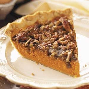 Pecan-Topped Carrot Pie Recipe