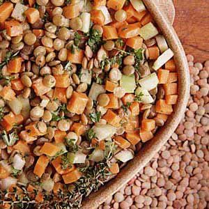 Carrot/Lentil Salad Recipe