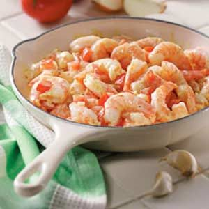 Shrimp with Mustard Sauce Recipe