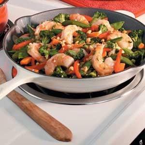 Easy Shrimp Stir Fry Recipe