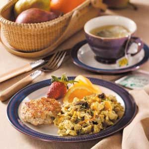 Veggie Egg Scramble Recipe