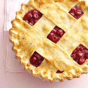 Tart Cherry Lattice Pie Recipe