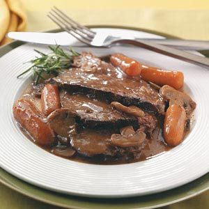 Beef Roast with Gravy Recipe