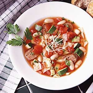 Minestrone in Minutes Recipe