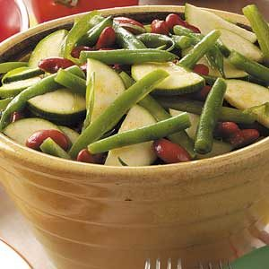 Zucchini Bean Salad Recipe