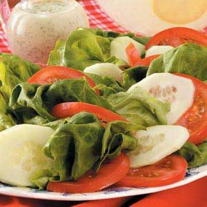Quick Tomato Cucumber Salad Recipe