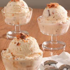 Creamy Candy Bar Ice Cream Recipe
