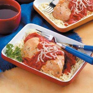 Flavorful Chicken Marinara for Two Recipe
