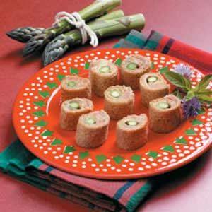 Asparagus Ham Bites Recipe