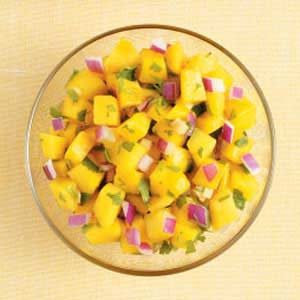 Gingered Mango Salsa Recipe