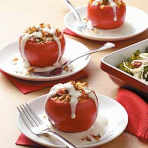 Ham-Stuffed Tomatoes Recipe