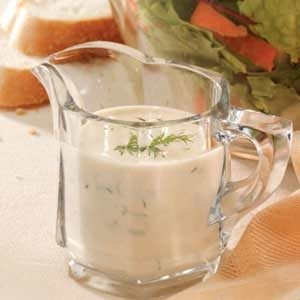 Creamy Dill Salad Dressing Recipe