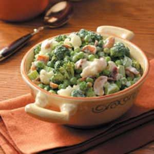 Green Pea Salad Recipe