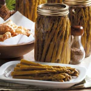 Sweet Pickled Asparagus