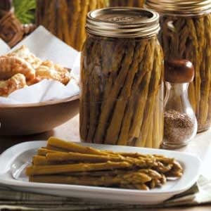 Sweet Pickled Asparagus Recipe