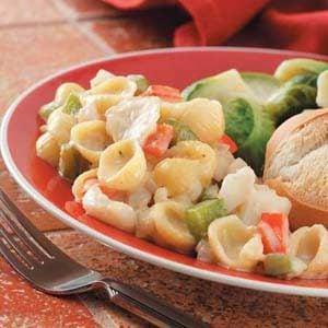 Seafood 'n' Shells Casserole Recipe