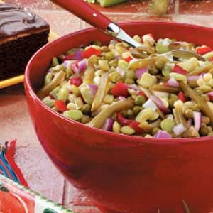 Green Bean Confetti Salad Recipe