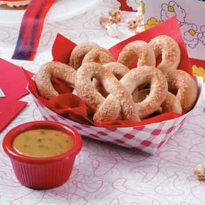 Soft Pretzels with Mustard Recipe