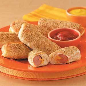 Sesame Hot Dogs Recipe