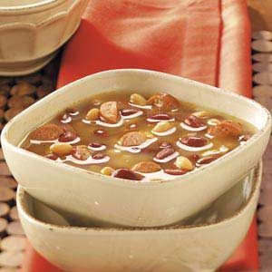 Hot Dog Bean Soup Recipe