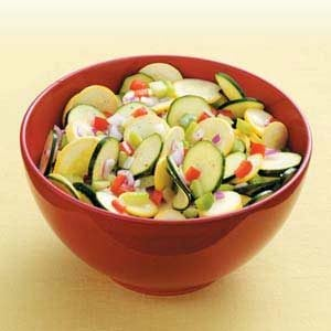Sweet-and-Sour Squash Salad Recipe