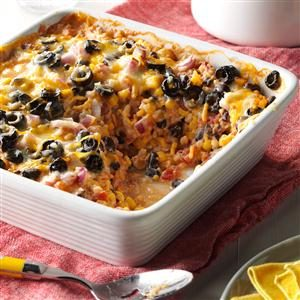 Southwest Vegetarian Bake Recipe