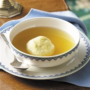 Flavorful Matzo Ball Soup Recipe