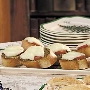 Pesto Crostini Recipe