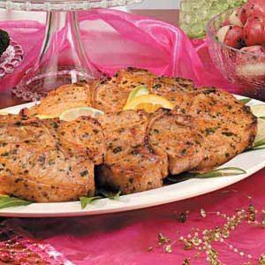 Cilantro-Lime Pork Chops Recipe