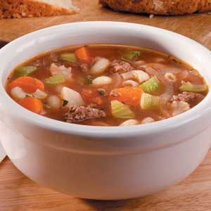 Ground Beef Vegetable Soup Recipe