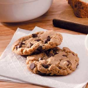 Molasses Oatmeal Chip Cookies Recipe