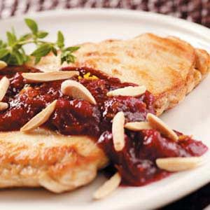 Almond Cranberry Chicken Recipe