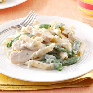 Garlic Chicken Penne Recipe