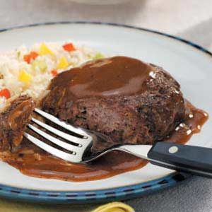 Salisbury Steak with Gravy Recipe