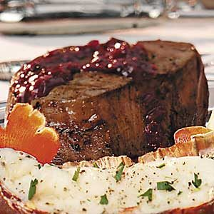 Gala Beef Tenderloin Filets Recipe