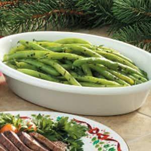 Buttery Basil Beans Recipe