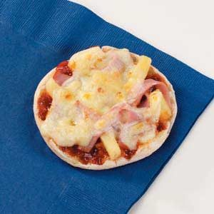 Pineapple Ham Pizzas Recipe