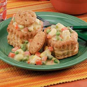 Chicken in Baskets Recipe