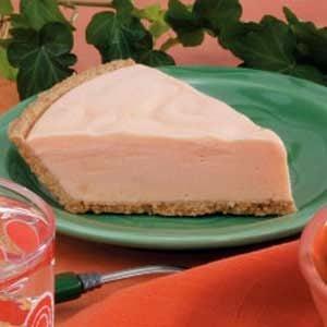 Frozen Orange Cream Pie Recipe