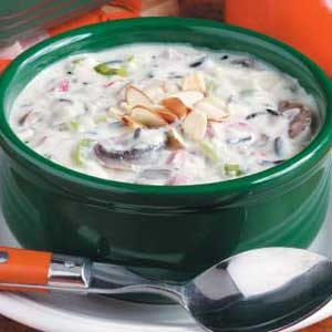 Quick Creamy Wild Rice Soup Recipe