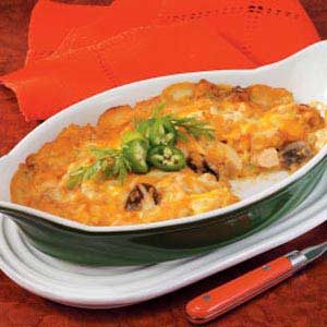 Nacho Chicken Casserole Recipe