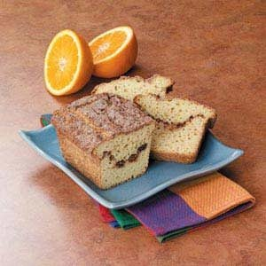 Orange Cinnamon Swirl Bread Recipe