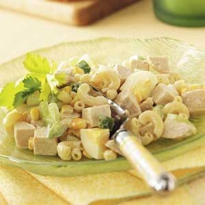 Old-Fashioned Chicken Macaroni Salad
